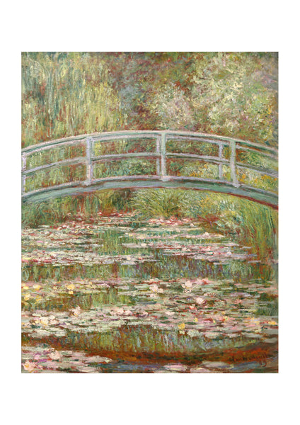 Claude Monet - Bridge Over a Pond of Water Lilies