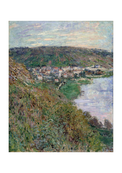 Claude Monet - View of V Vetheuil