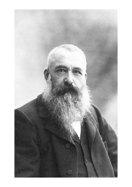 Claude Monet, photo by Nadar, 1899