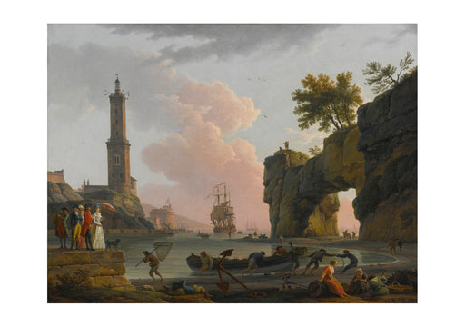 Claude Vernet - Harbour