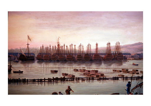 Claude Vernet - Harbour in France