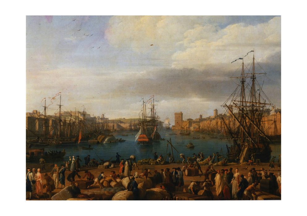Claude Vernet - Harbour with Ships