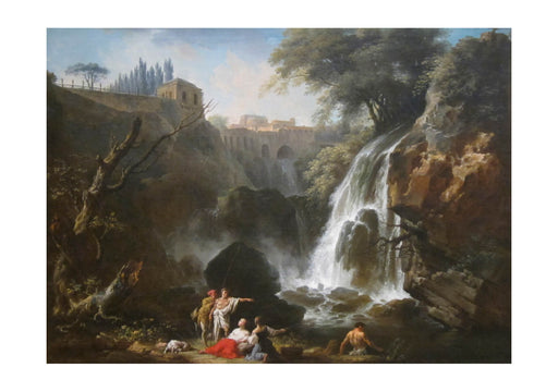 Claude Vernet - The Cascades of Tivoli
