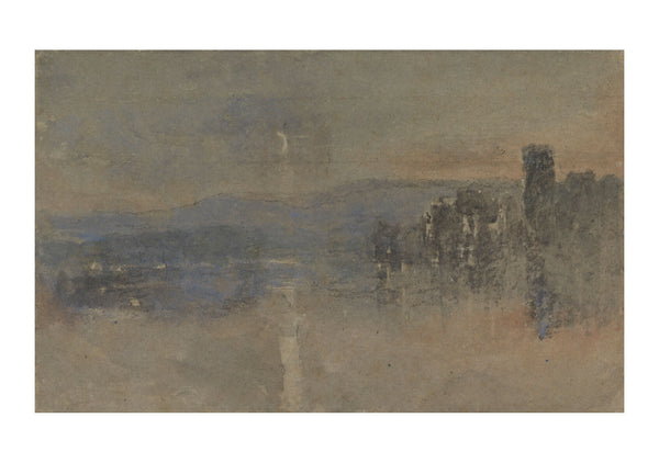 David Cox - Moonlight Landscape-2