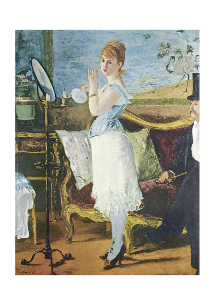 Edouard Manet - Looking in the Mirror