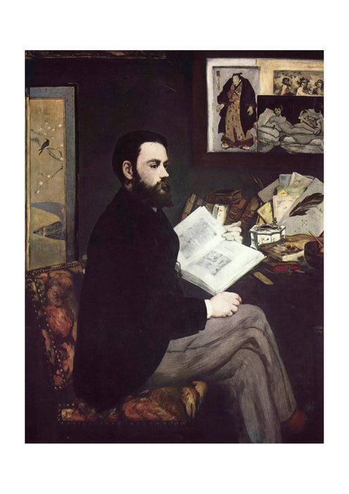 Edouard Manet - Man Reading