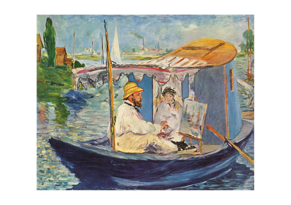 Edouard Manet - On a Boat