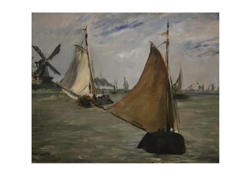 Edouard Manet - View in Holland by