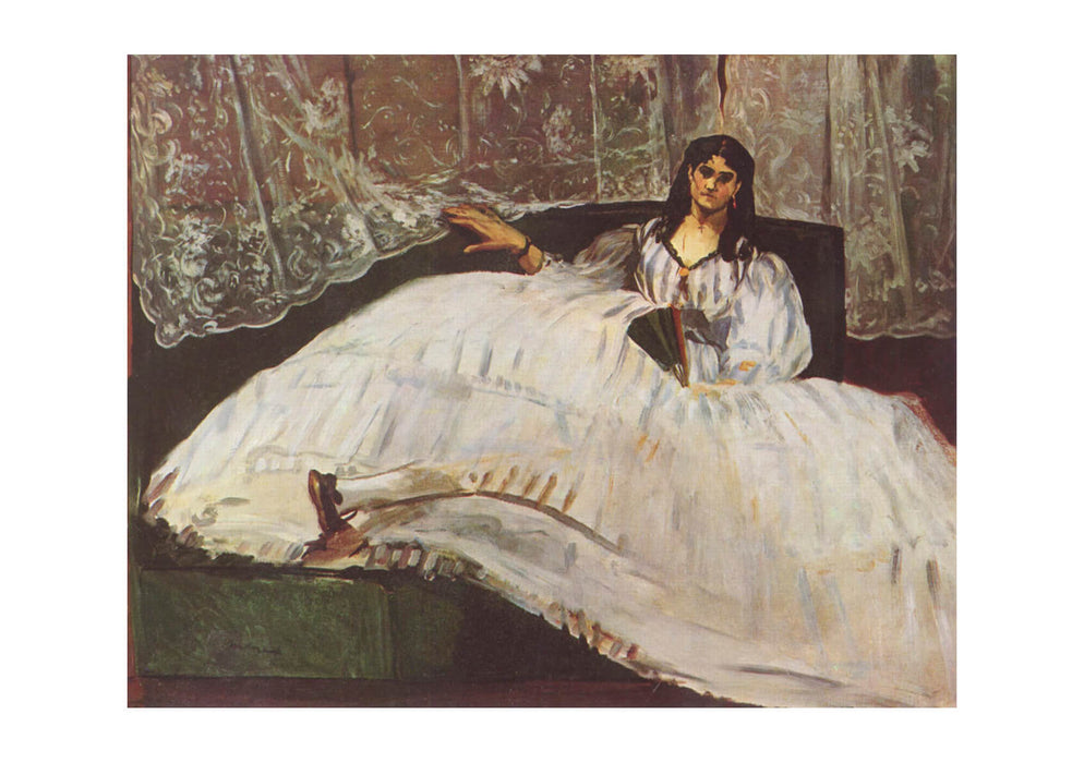 Edouard Manet - Woman in Dress