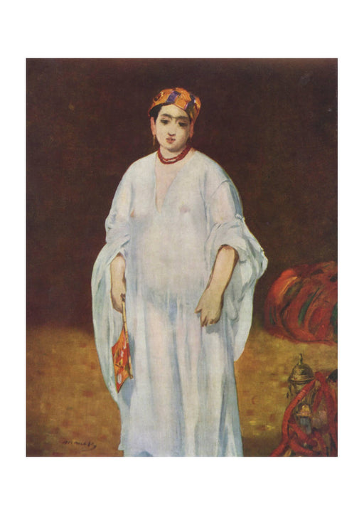 Edouard Manet - Woman in White