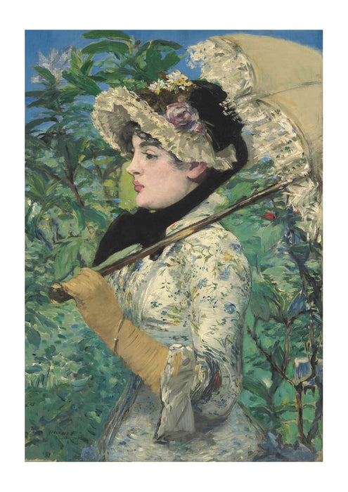 Edouard Manet - Woman with Parasol