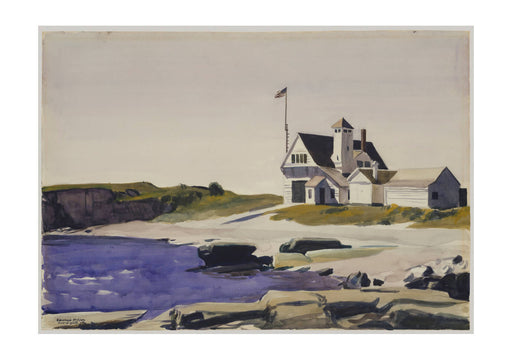 Edward Hopper - Coast Guard Station