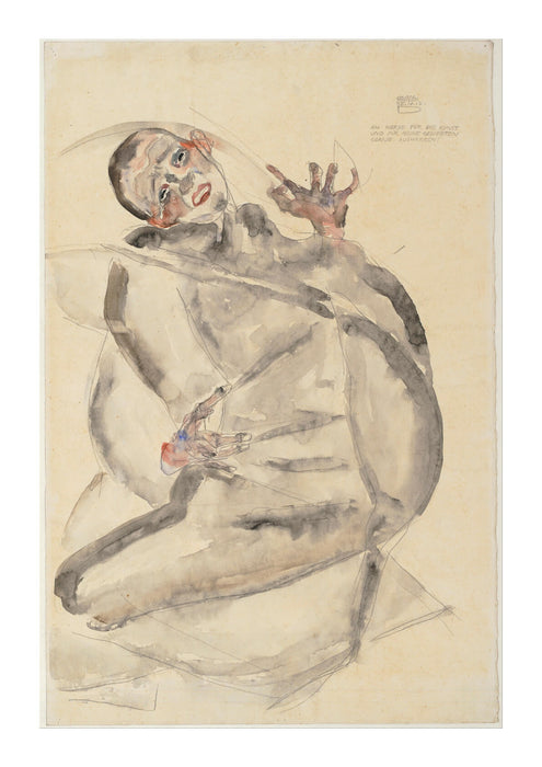 Egon Schiele - I Will Gladly Endure for Art and My Loved Ones