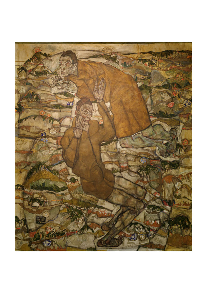 Egon Schiele - Levitation (The Blind II) 1915