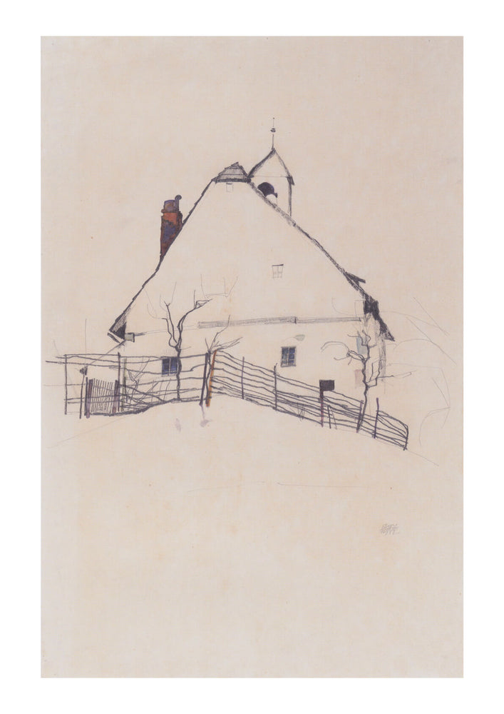 Egon Schiele - Lines and Dashes