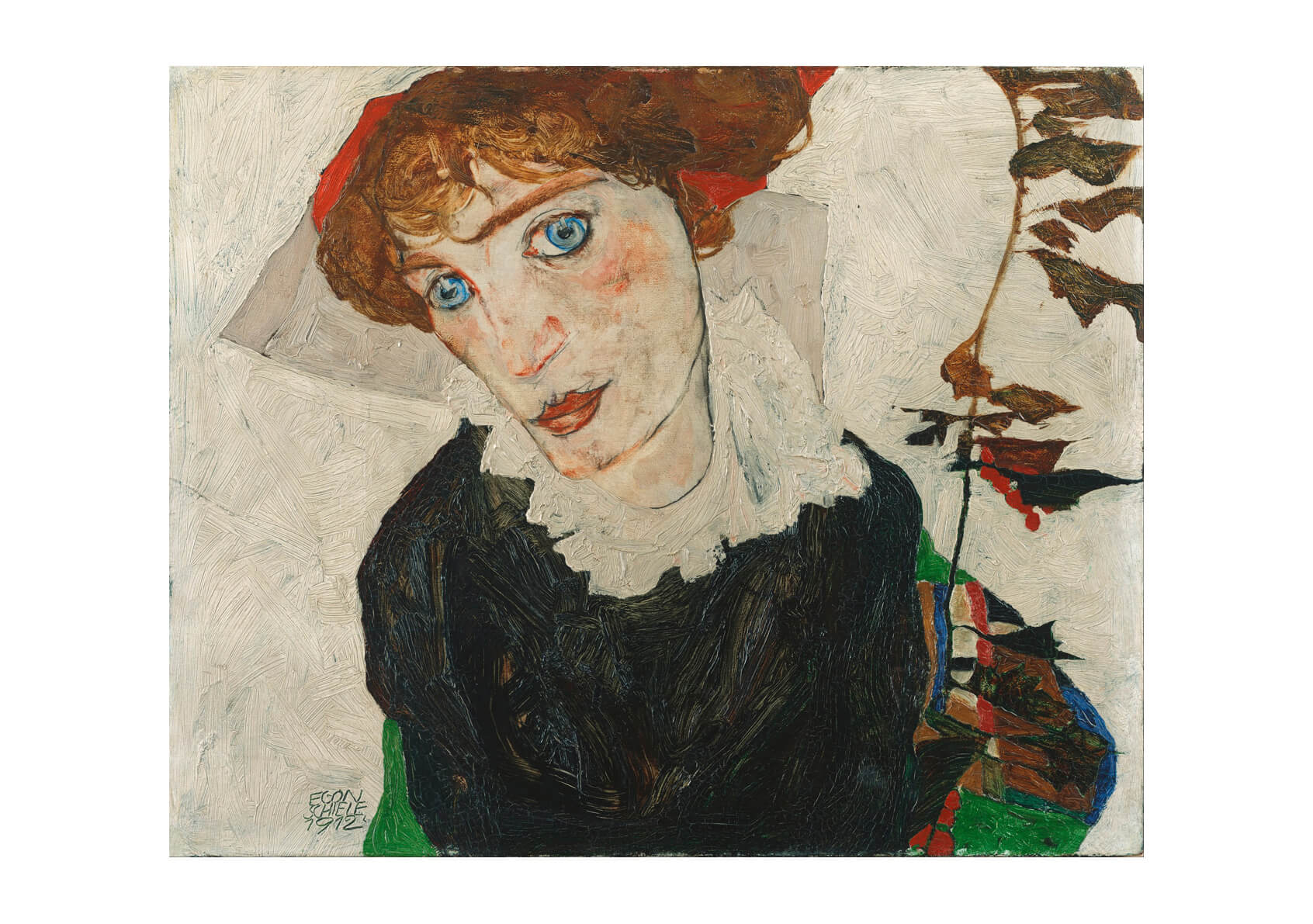 Egon Schiele - Portrait Of Wally Neuzil