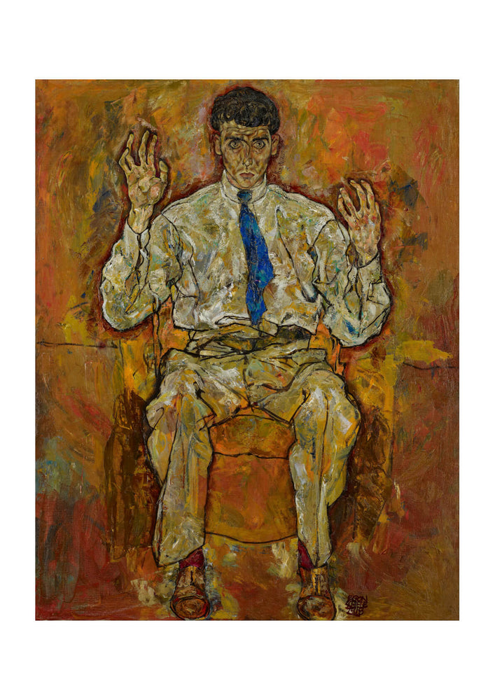 Egon Schiele - Portrait of Paris