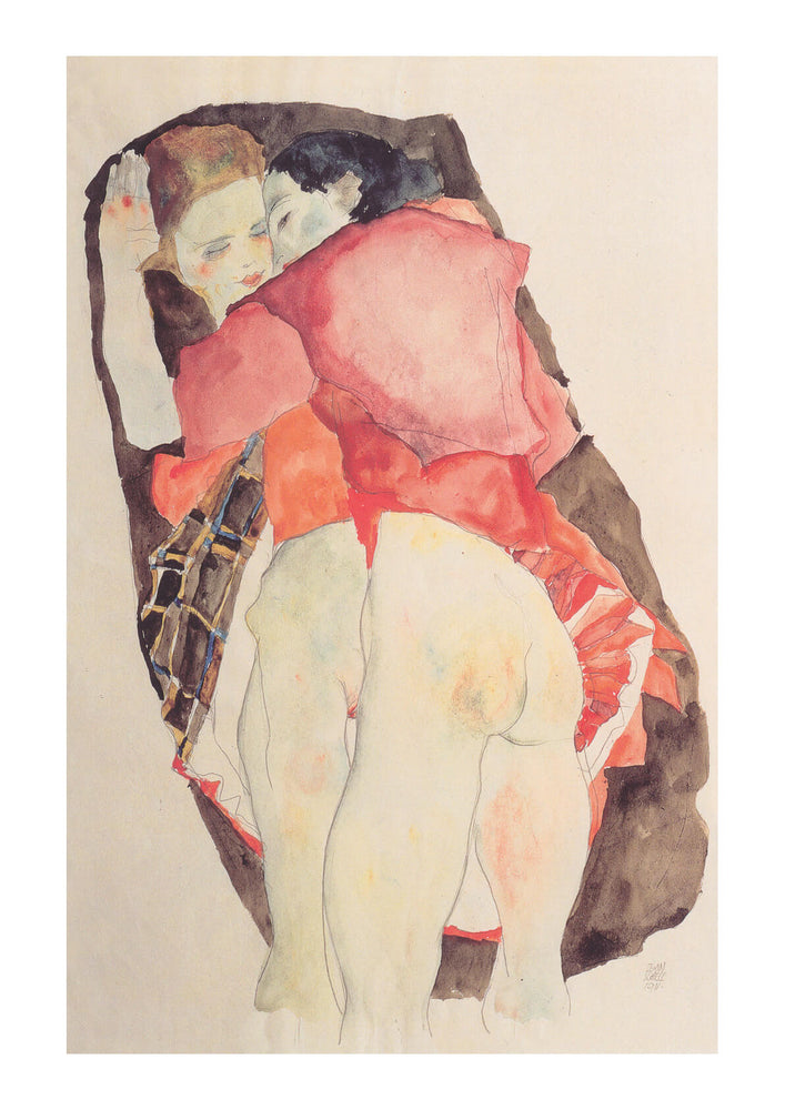 Egon Schiele - Red Top