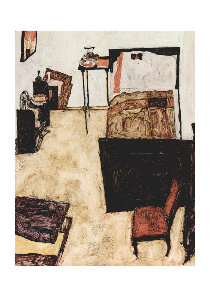 Egon Schiele - The Bedroom
