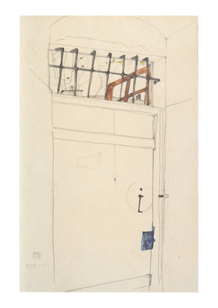 Egon Schiele - The Door