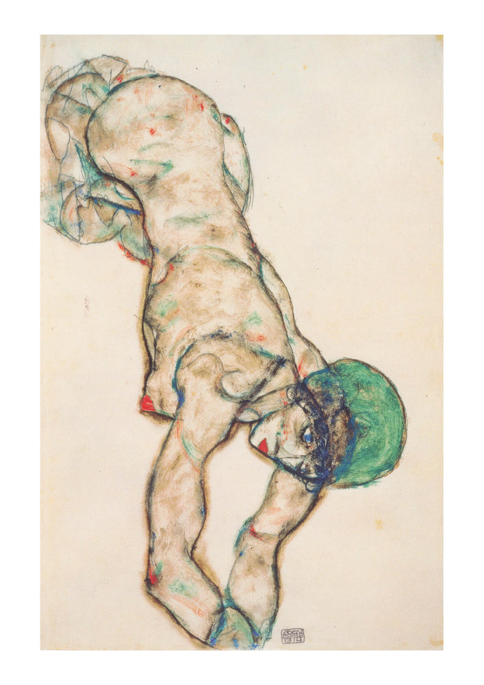 Egon Schiele - The Green Hat