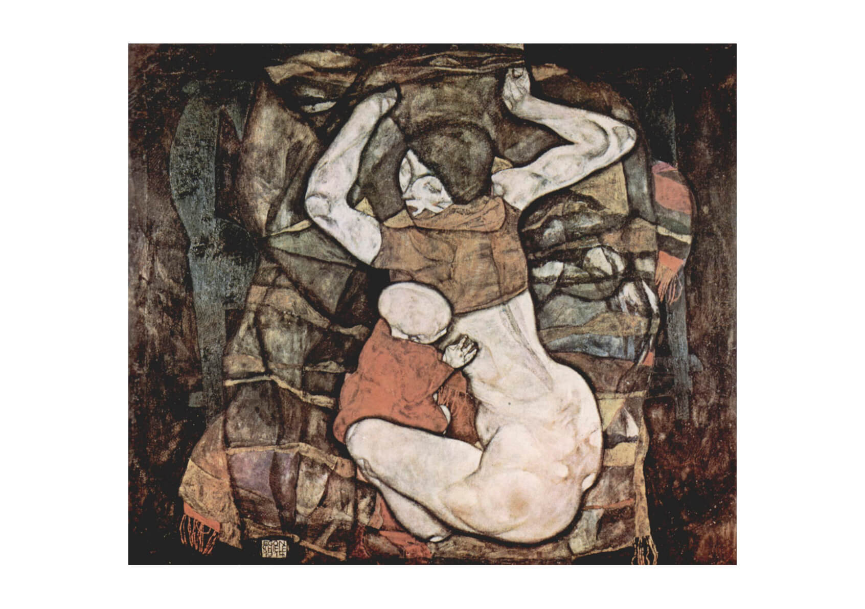 Egon Schiele - Woman with Child