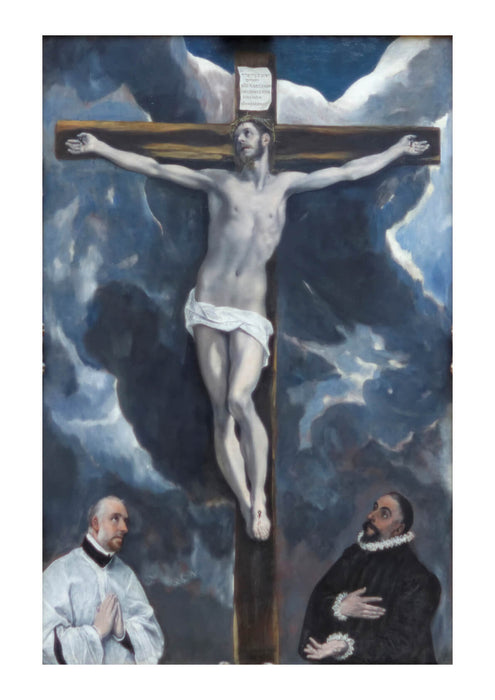 El Greco - Christ on a Cross
