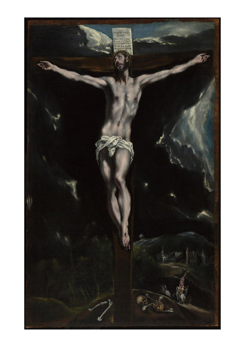 El Greco - Domenico Theotocopuli Christ on the Cross