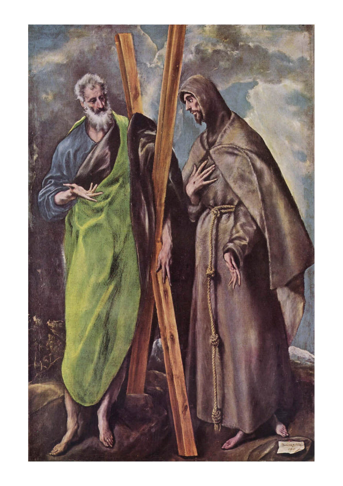 El Greco - Holding the Cross