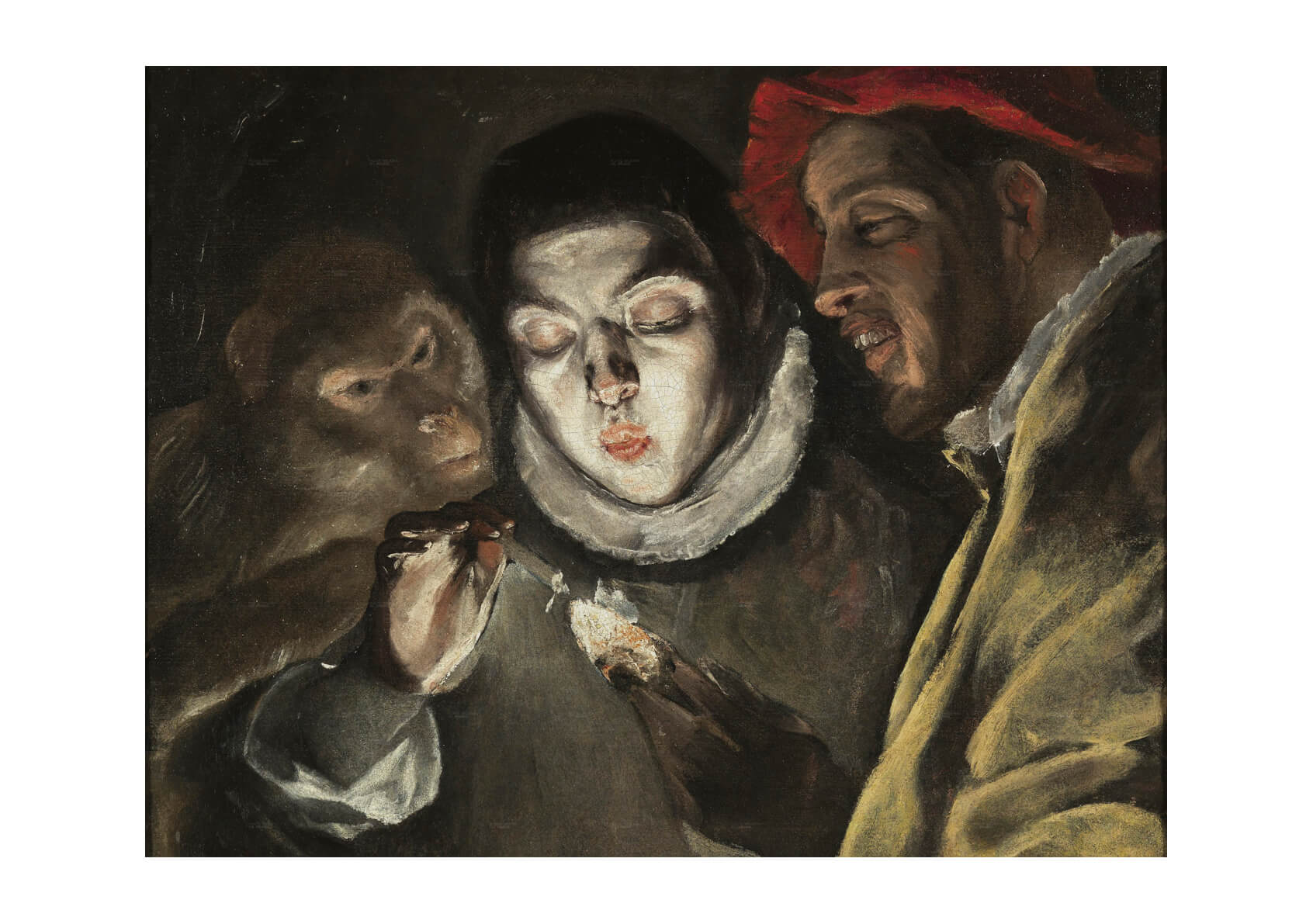 El Greco - Looking down with light