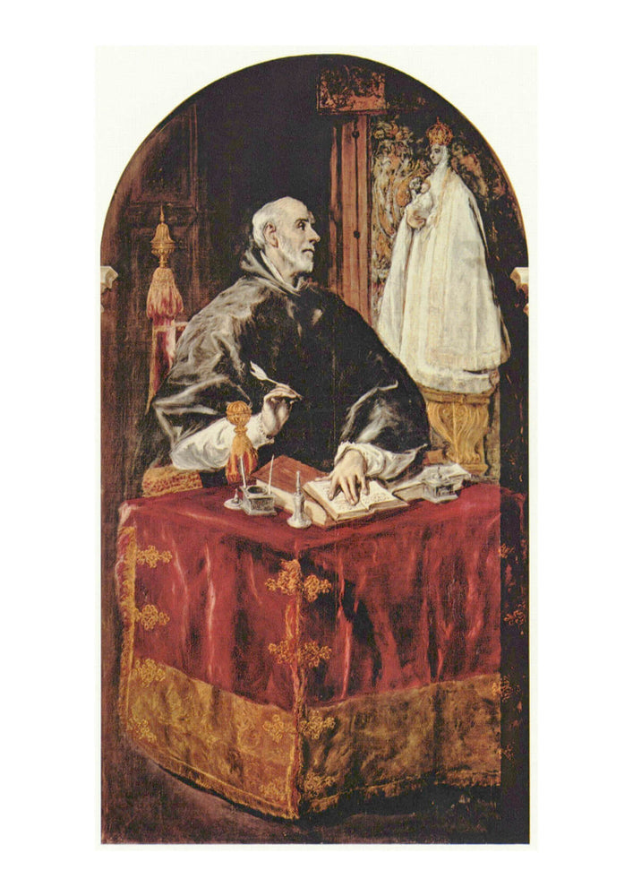 El Greco - Signing the Papers