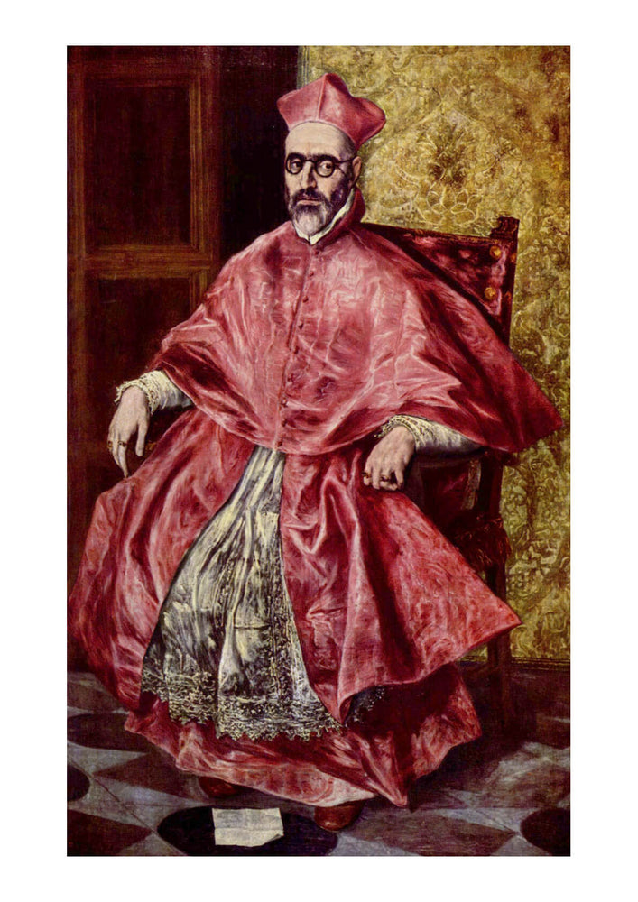 El Greco - Sitting Portrait