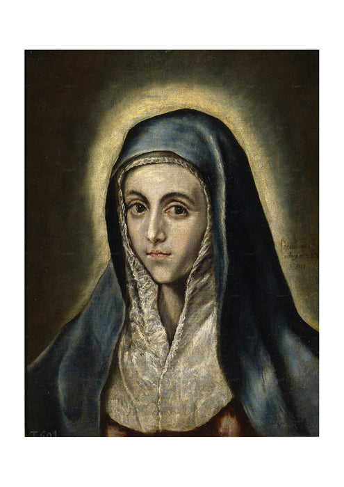 El Greco - Virgin Mary