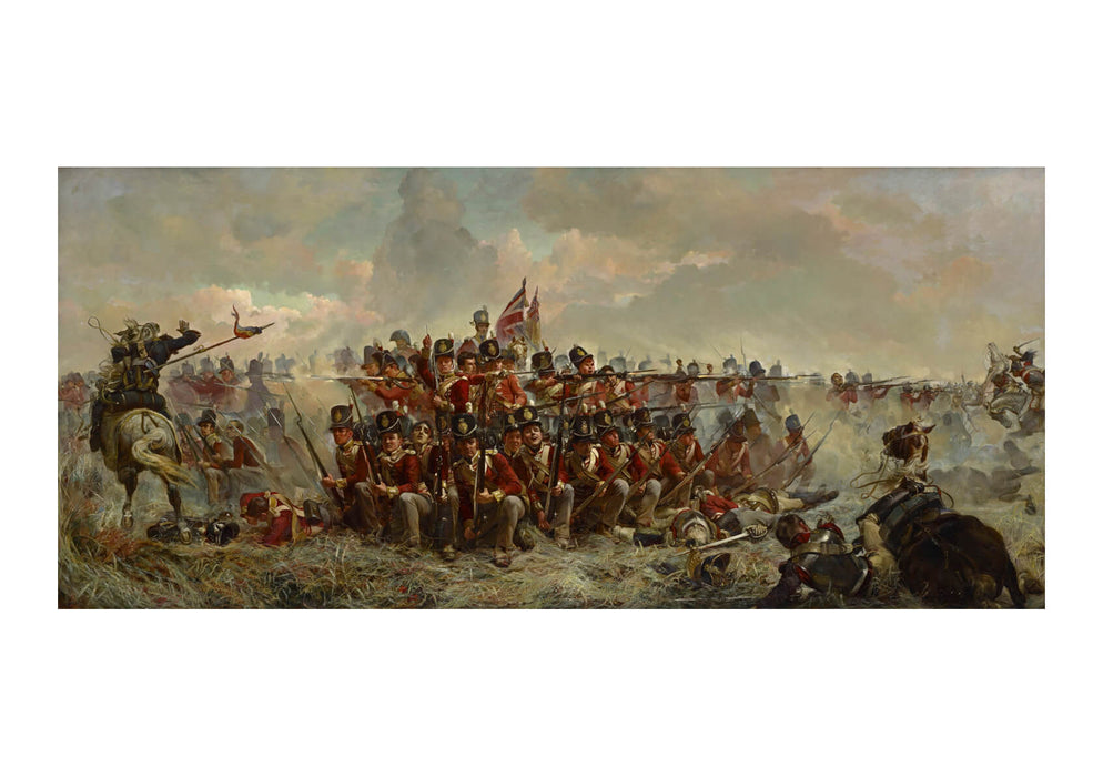 Elizabeth Thompson - The 28th Regiment At Quatre Bras