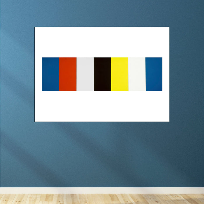 Ellsworth Kelly - Red Yellow Blue White And Black