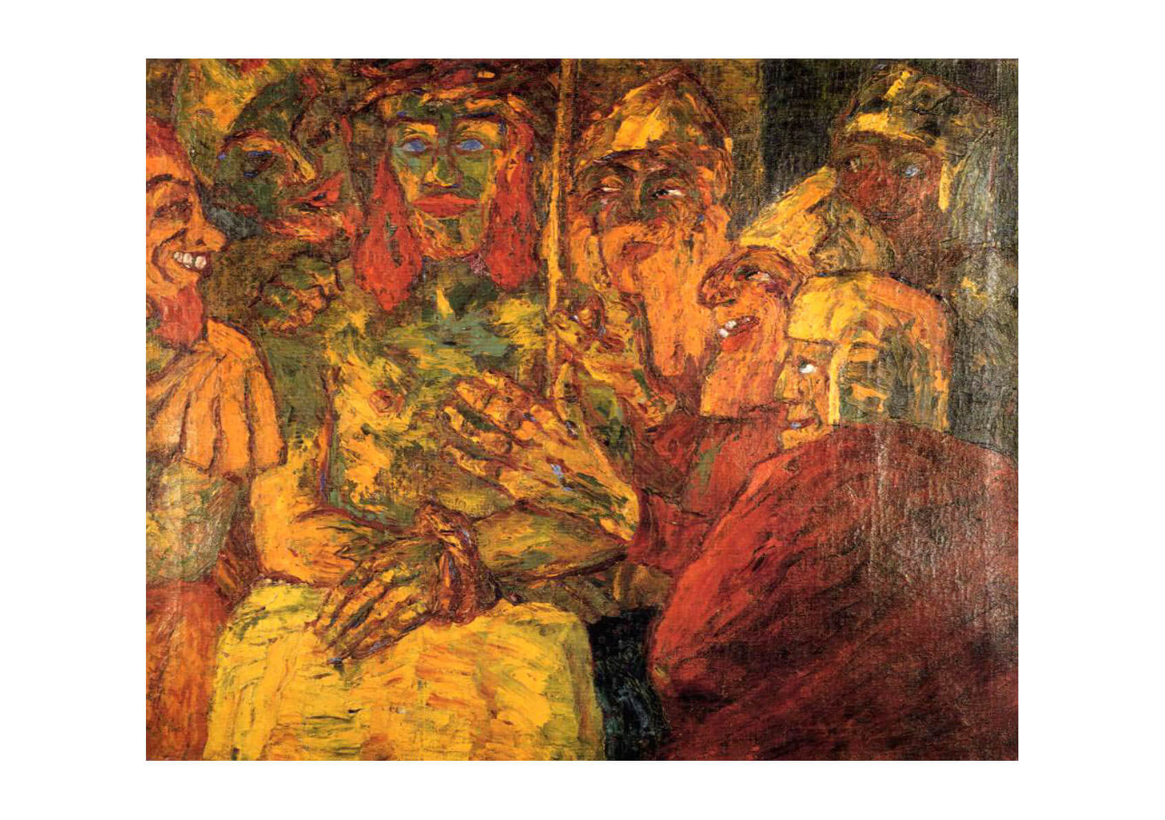Emil Nolde Mocking Of Christ