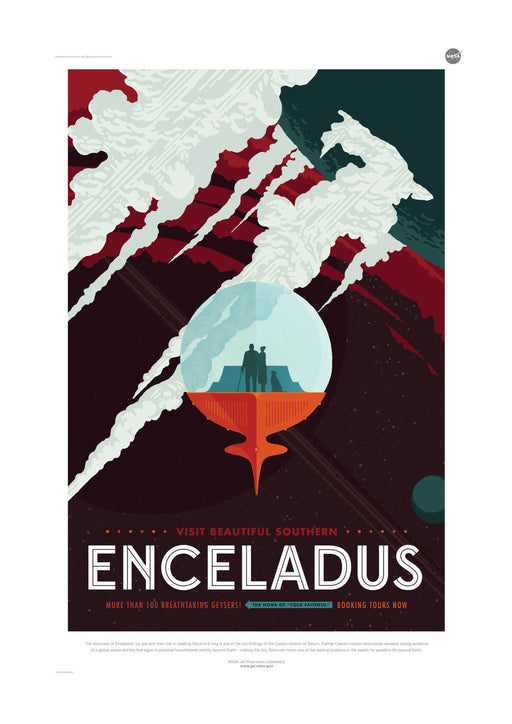 Enceladus NASA Space Tourism