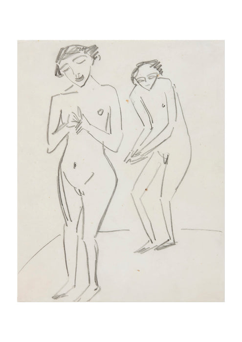 Ernst Ludwig Kirchner - Two People