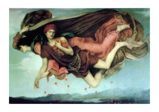 Evelyn De Morgan - Night and Sleep 1878