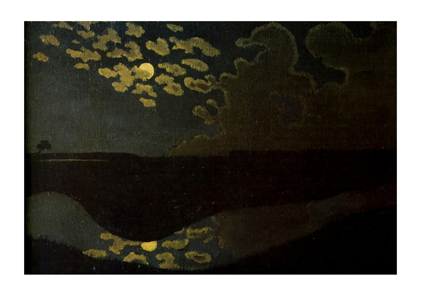 Félix Vallotton Moonlight 1894