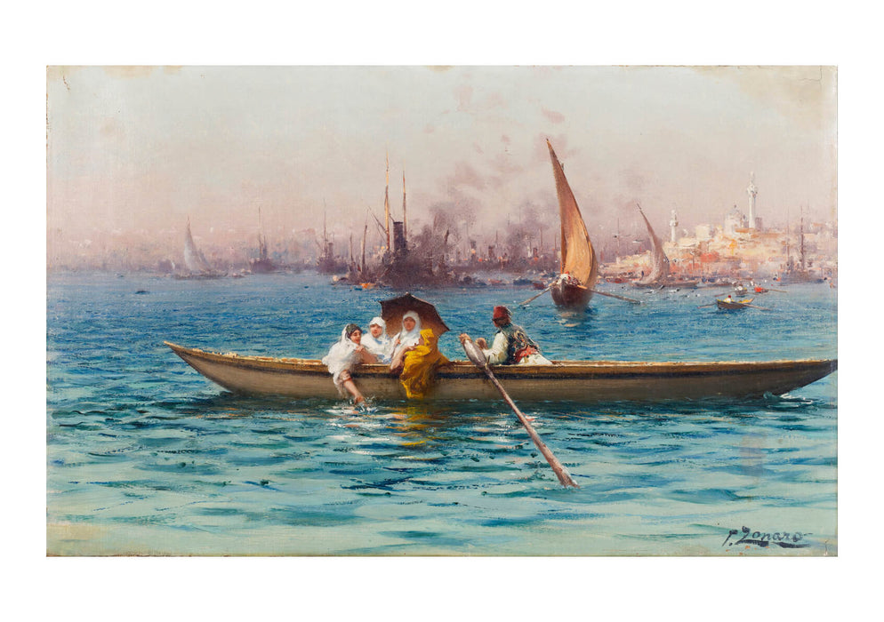 Fausto Zonaro - Amusement On The Caique