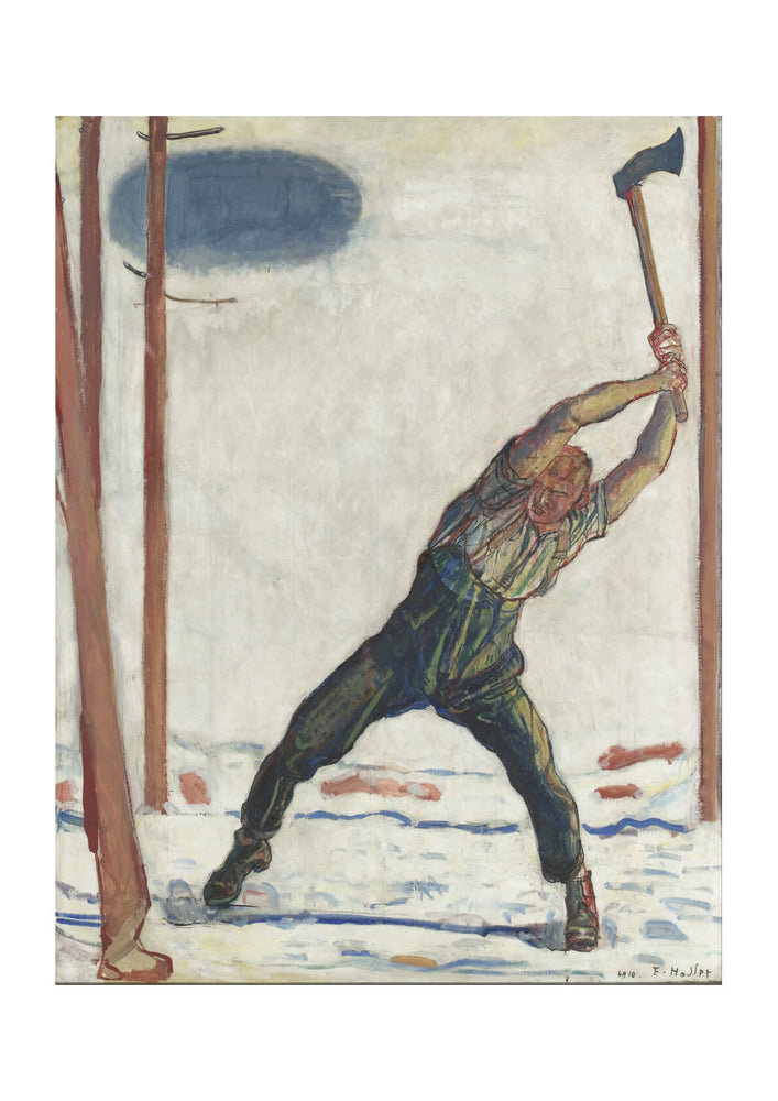 Fernidand Hodler - The Woodcutter