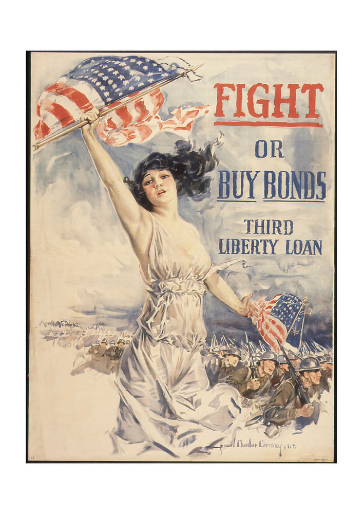 Fight or Buy Bonds. Third Liberty Loan