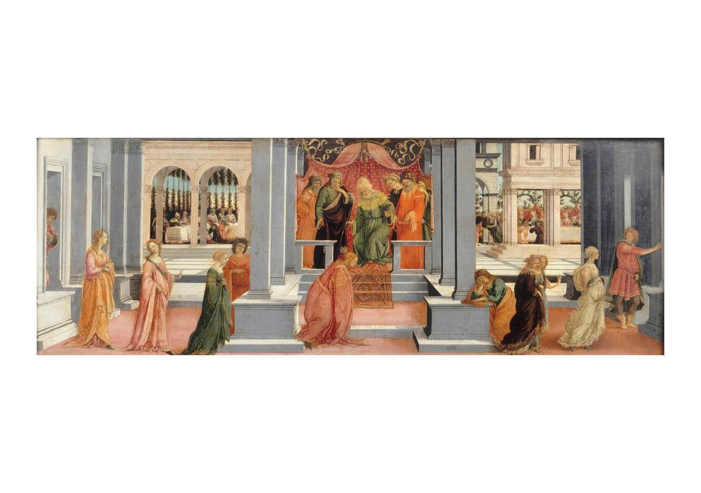 Filippino Lippi - Esther Choisie Par Assuérus