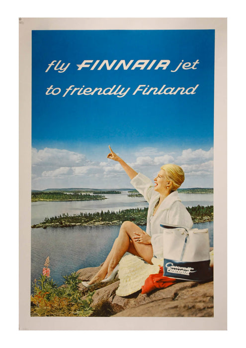 Fly Finnair Jet To Friendly Finland