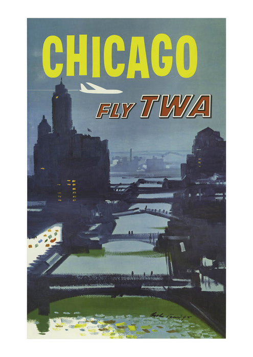 Fly TWA Chicago