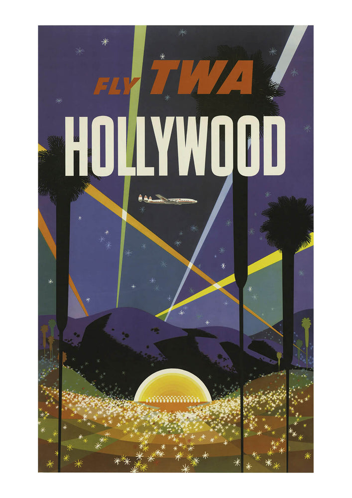 Fly TWA Hollywood