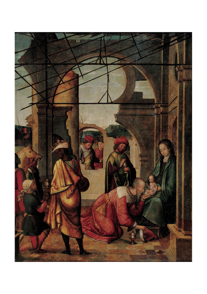 Follower Of Juan De Borgoña - Adoration Of Magi