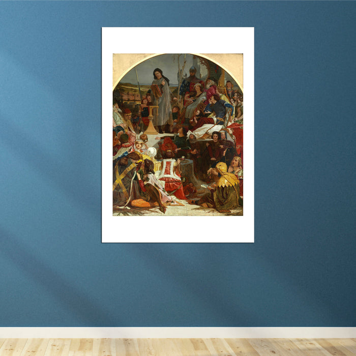 Ford Madox Brown - Chaucer At The Court Of Edward Iii