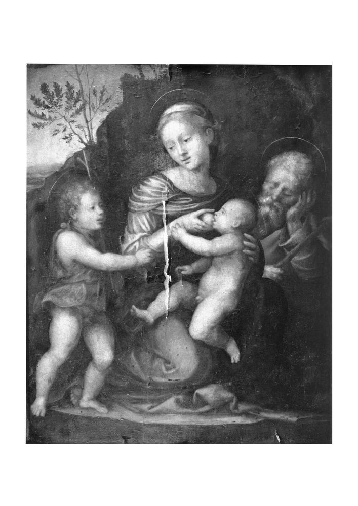 Fra Bartolomeo - Holy Family With St John